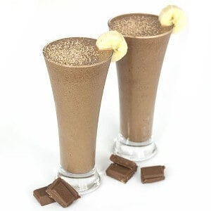 smoothie recipes with powdered peanut butter featured