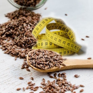 flax seed smoothie weight loss featured