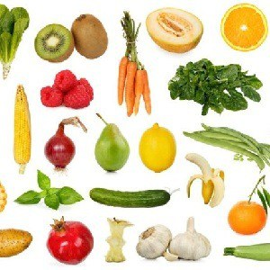 fruit and veg has lots of nutrients