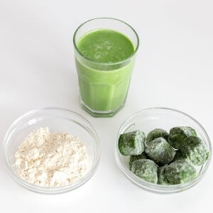 how to freeze spinach fo smoothies featured