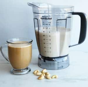 nutribullet cashew creamer recipe
