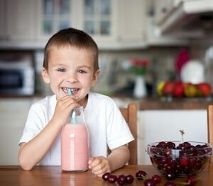 cherry smoothie pierde in greutate