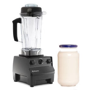 making mayonnaise in a vitamix featured