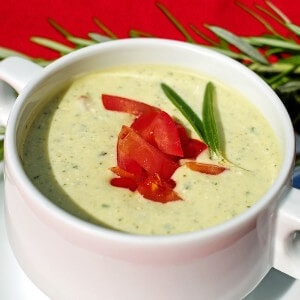 vitamix cold soup recipes featured