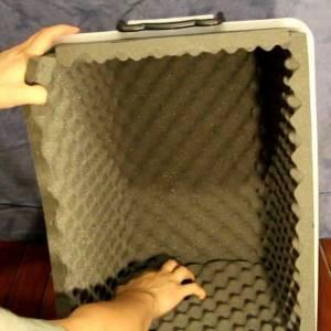 how to make a blender sound enclosure
