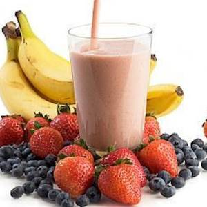 how to make fruit protein shakes