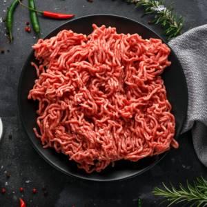 grinding meat in a vitamix blender