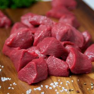 prepare the meat before grinding